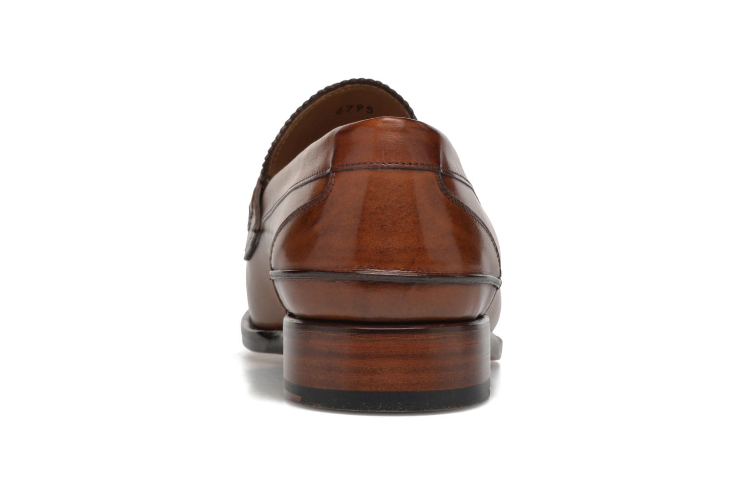 Mocassins Marvin&Co Luxe Walsall - Cousu Blake Marron vue droite