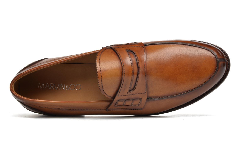 Slipper Marvin&Co Luxe Walsall braun ansicht von links