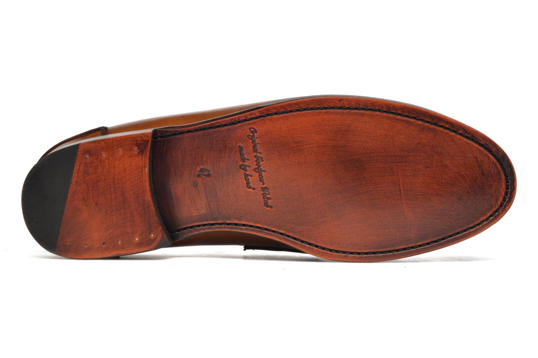 Slipper Marvin&Co Luxe Walsall braun ansicht von oben