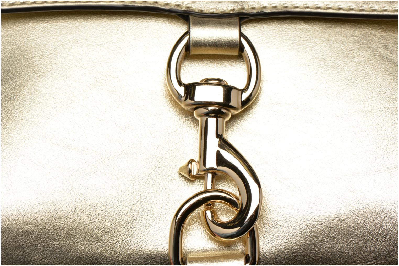 Sacs à main Rebecca Minkoff Mab Camera bag Or et bronze vue gauche