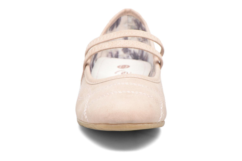 Ballerines Dockers Larah Rose vue portées chaussures