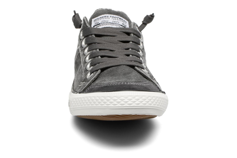 Baskets Dockers Armand Gris vue portées chaussures