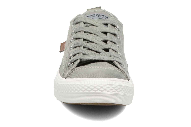 Baskets Dockers Irian Vert vue portées chaussures