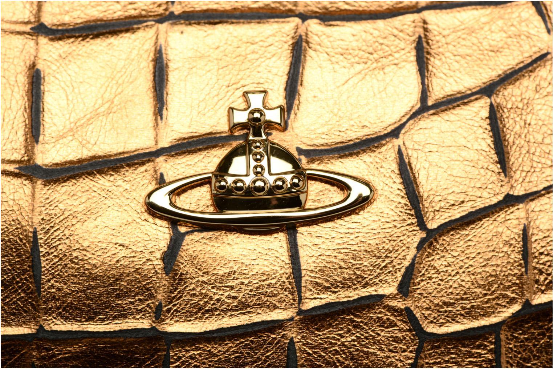 Sacs à main Vivienne Westwood Armour Handbag Or et bronze vue gauche