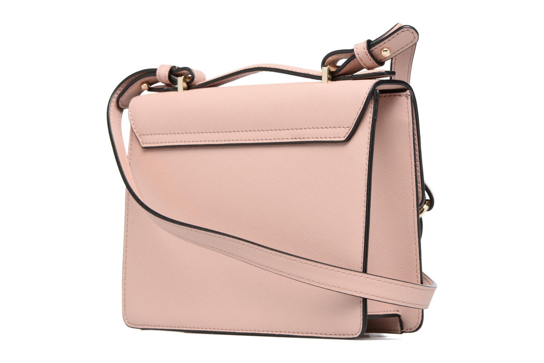 Opio saffiano small Shoulderbag Pink