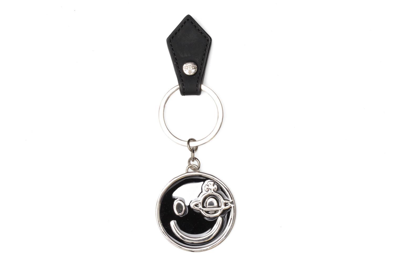 Smiley Key ring Gadget Black