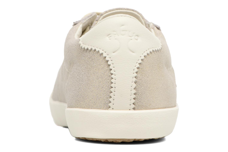 Baskets Faguo Spindle03 Or et bronze vue droite