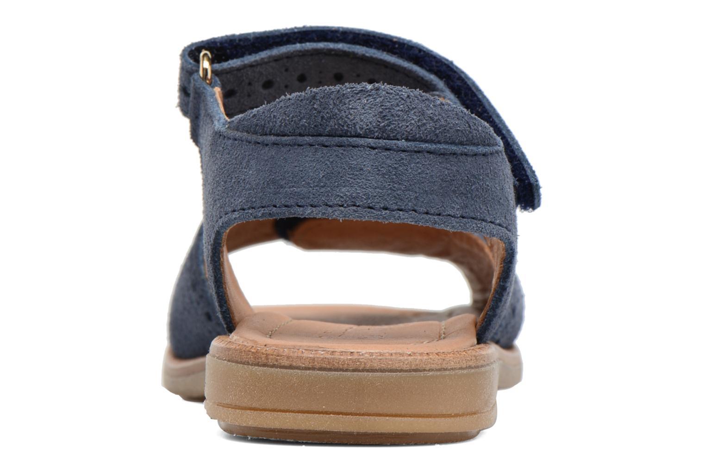 Sandales et nu-pieds Bisgaard Albilda Bleu vue droite