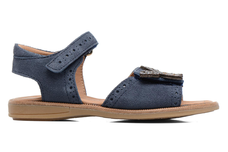 Sandales et nu-pieds Bisgaard Albilda Bleu vue derrière
