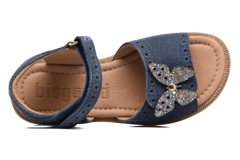 Sandales et nu-pieds Bisgaard Albilda Bleu vue gauche
