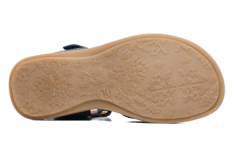 Sandales et nu-pieds Bisgaard Albilda Bleu vue haut