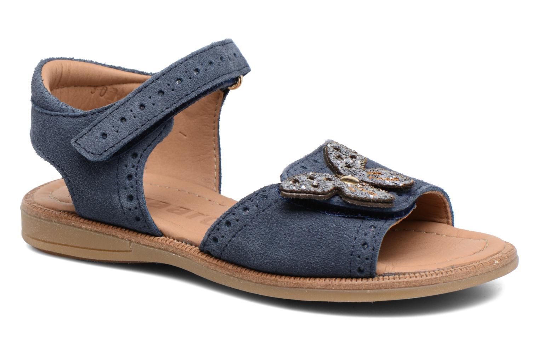 Sandales et nu-pieds Bisgaard Albilda Bleu vue détail/paire