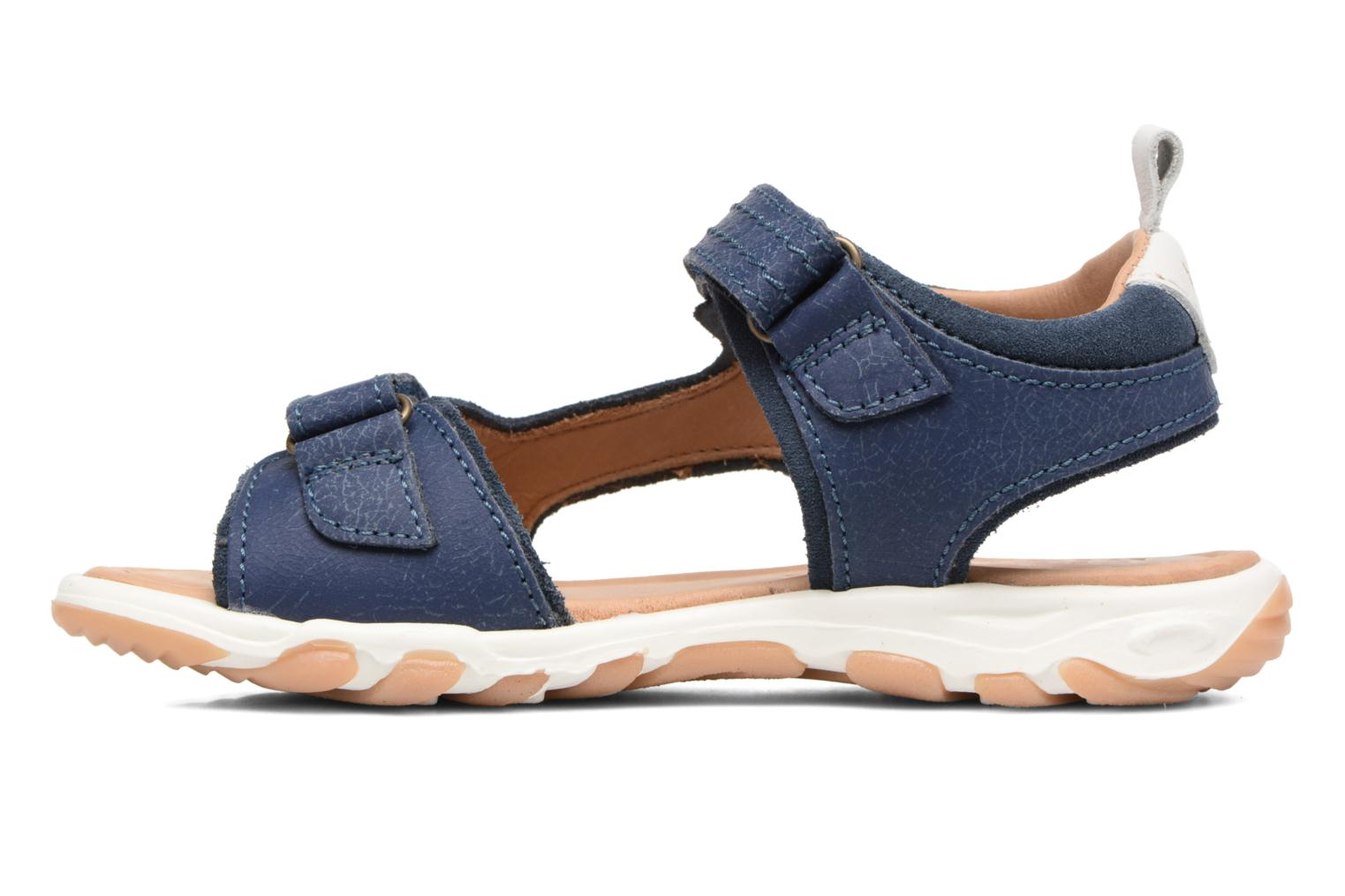 Sandals Bisgaard Torben Blue front view