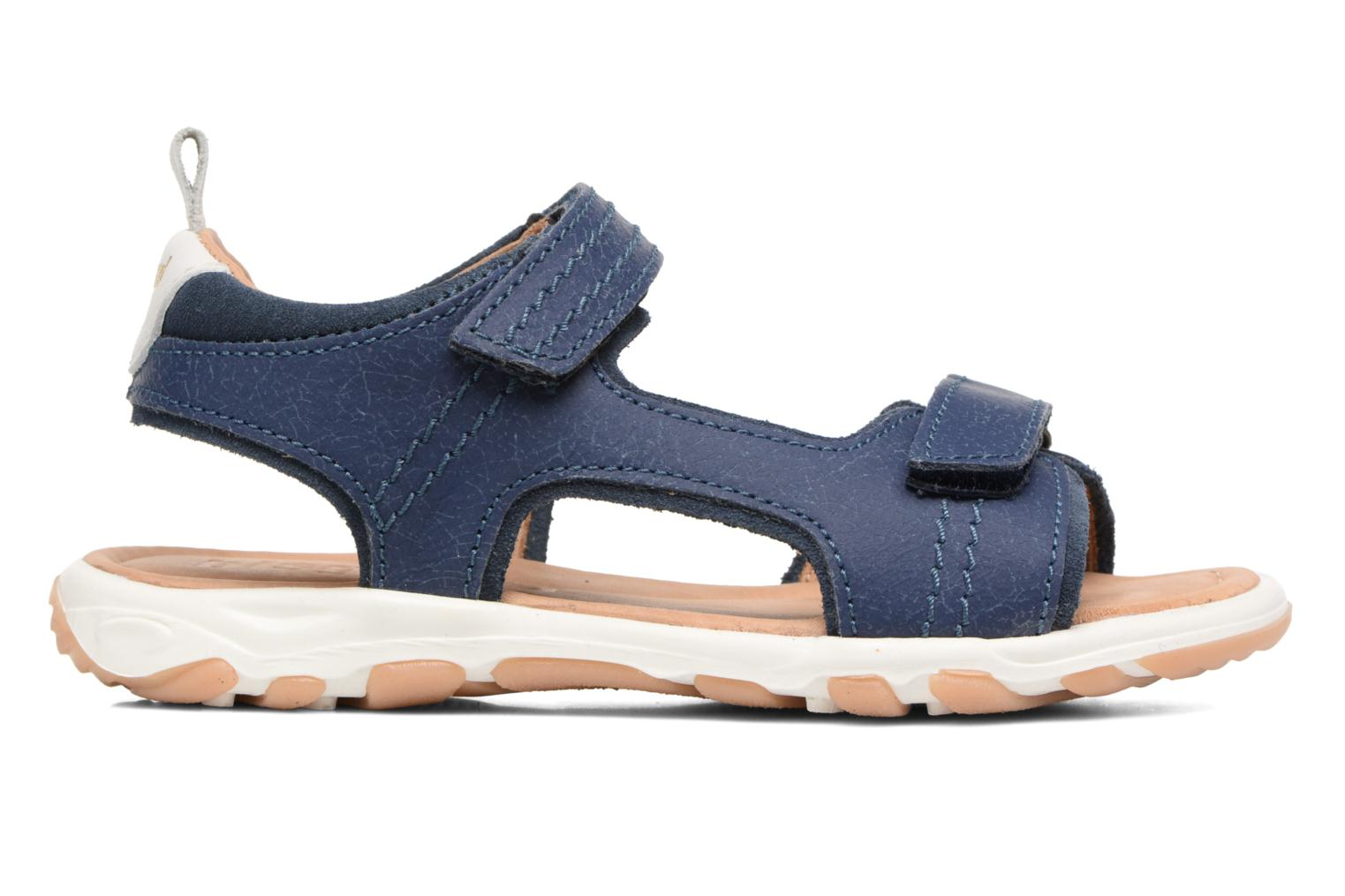 Sandals Bisgaard Torben Blue back view