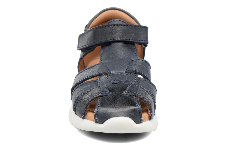 Sandales et nu-pieds Bisgaard Jister Bleu vue portées chaussures