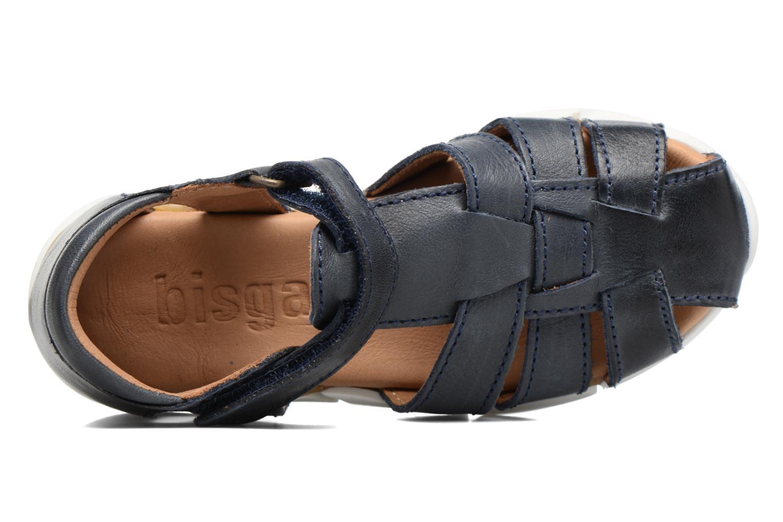 Sandales et nu-pieds Bisgaard Jister Bleu vue gauche