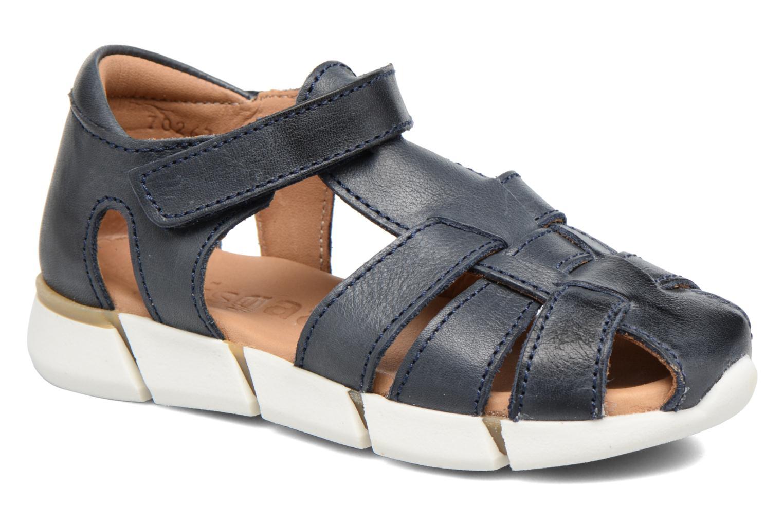 Sandales et nu-pieds Bisgaard Jister Bleu vue détail/paire