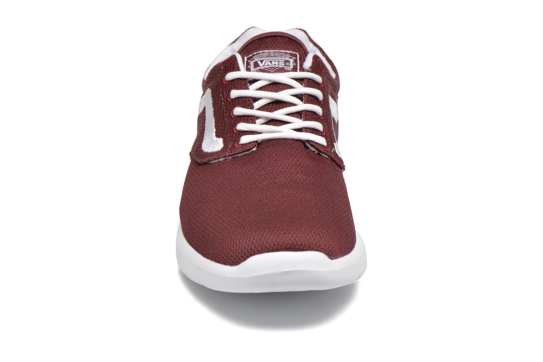 Baskets Vans Iso 1.5 Bordeaux vue portées chaussures