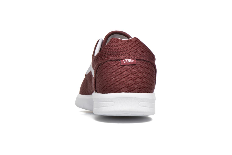 Baskets Vans Iso 1.5 Bordeaux vue droite