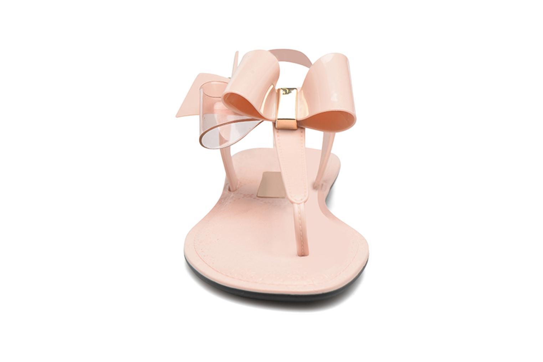 Sandalias Grendha Sense sandal fem Rosa vista del modelo