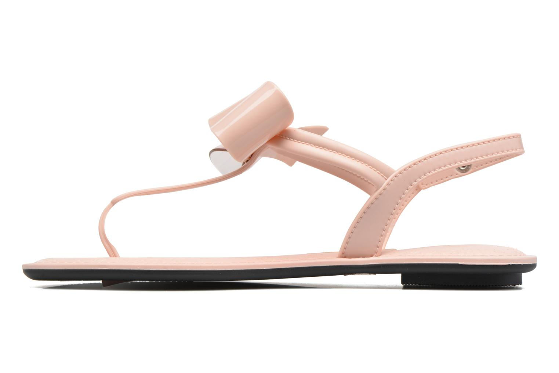 Sandalias Grendha Sense sandal fem Rosa vista de frente