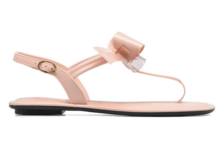 Sandalias Grendha Sense sandal fem Rosa vistra trasera