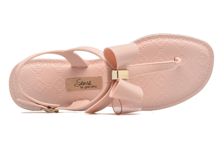 Sandales et nu-pieds Grendha Sense sandal fem Rose vue gauche