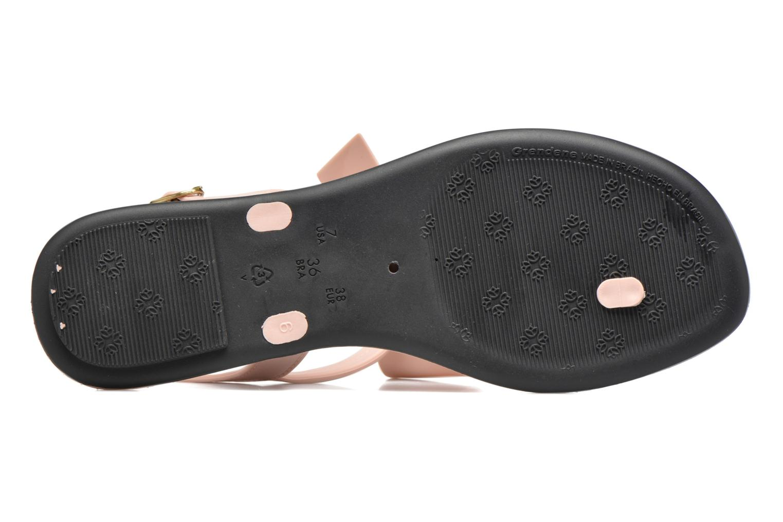 Sandales et nu-pieds Grendha Sense sandal fem Rose vue haut