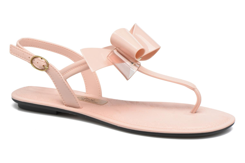 Sandalias Grendha Sense sandal fem Rosa vista de detalle / par