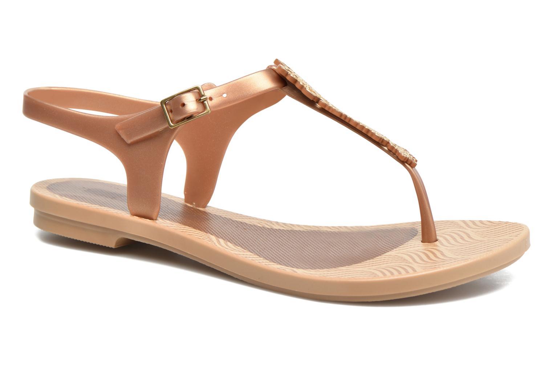 Sandalias Grendha Romantic Sandal Fem Marrón vista de detalle / par