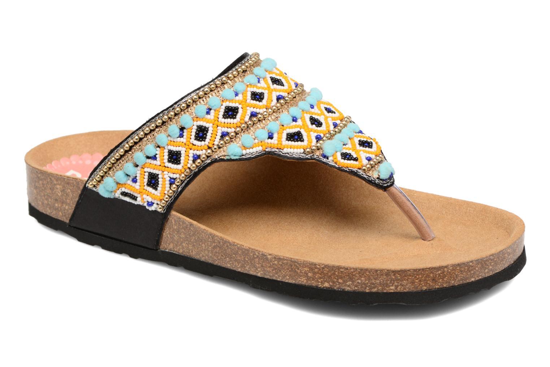 Sandalen Desigual SHOES_TAJMAHAL mehrfarbig detaillierte ansicht/modell