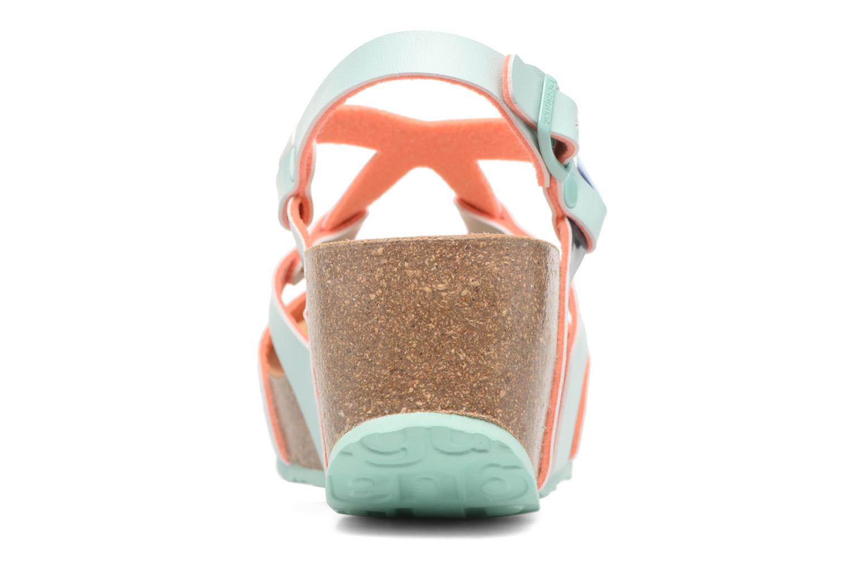 Sandales et nu-pieds Desigual SHOES_BIO 9 Multicolore vue droite