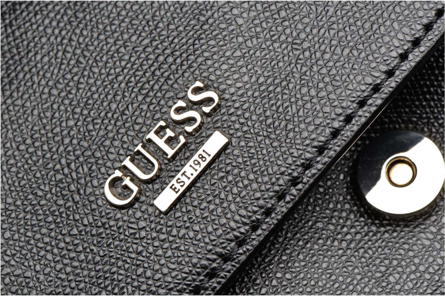 Sacs à main Guess DEVYN Shoulder bag Noir vue gauche