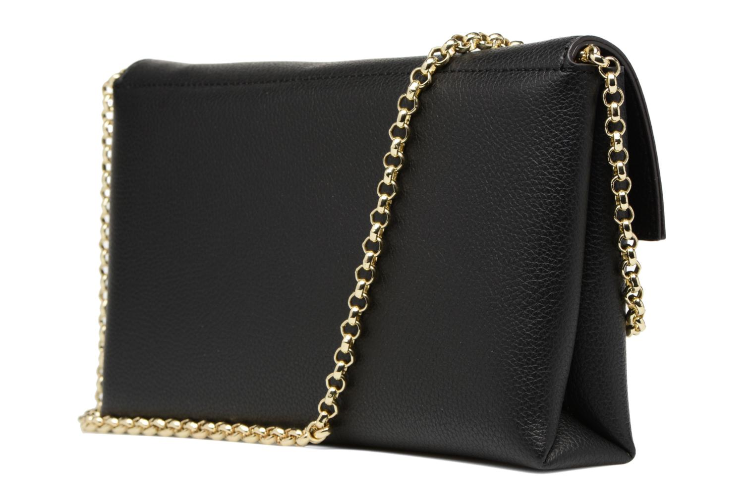 TULIP Envelope clutch Black