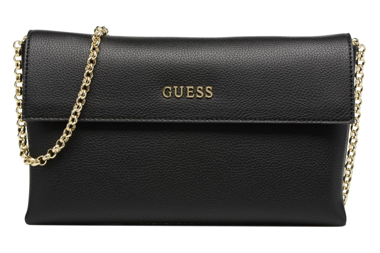Sacs pochettes Guess TULIP Envelope clutch Noir vue détail/paire