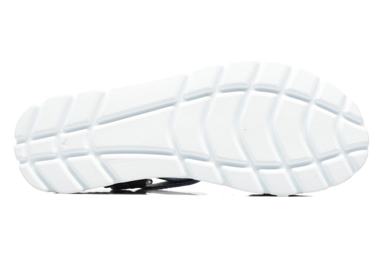 Sandalen Panama Jack Sally snake blau ansicht von oben
