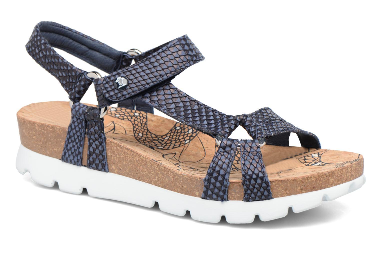 Sandalen Panama Jack Sally snake blau detaillierte ansicht/modell