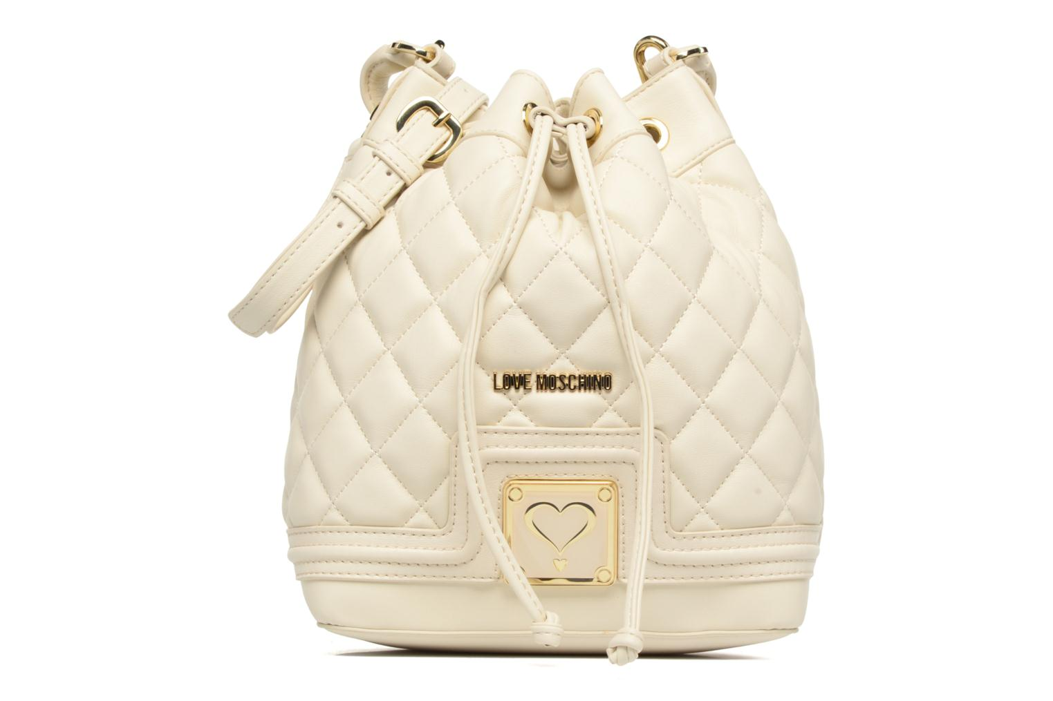 Super quilted Bucket bag Avorio