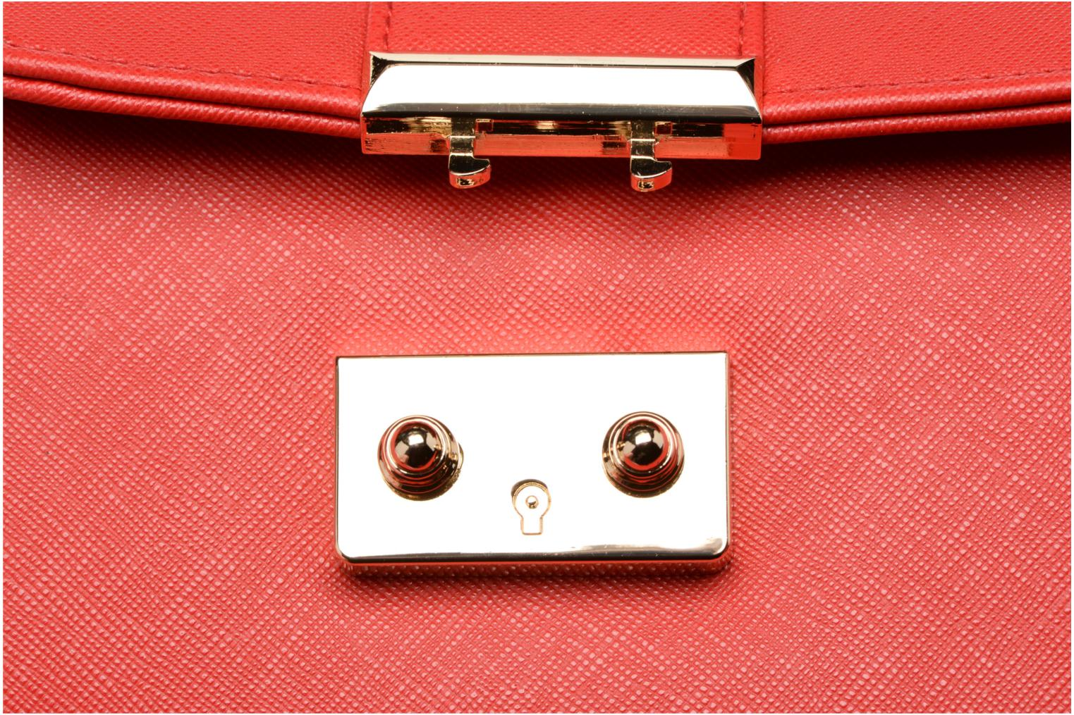 Handbags L'Aetelier Caesars ANDY Shoulder bag S Red view from the left