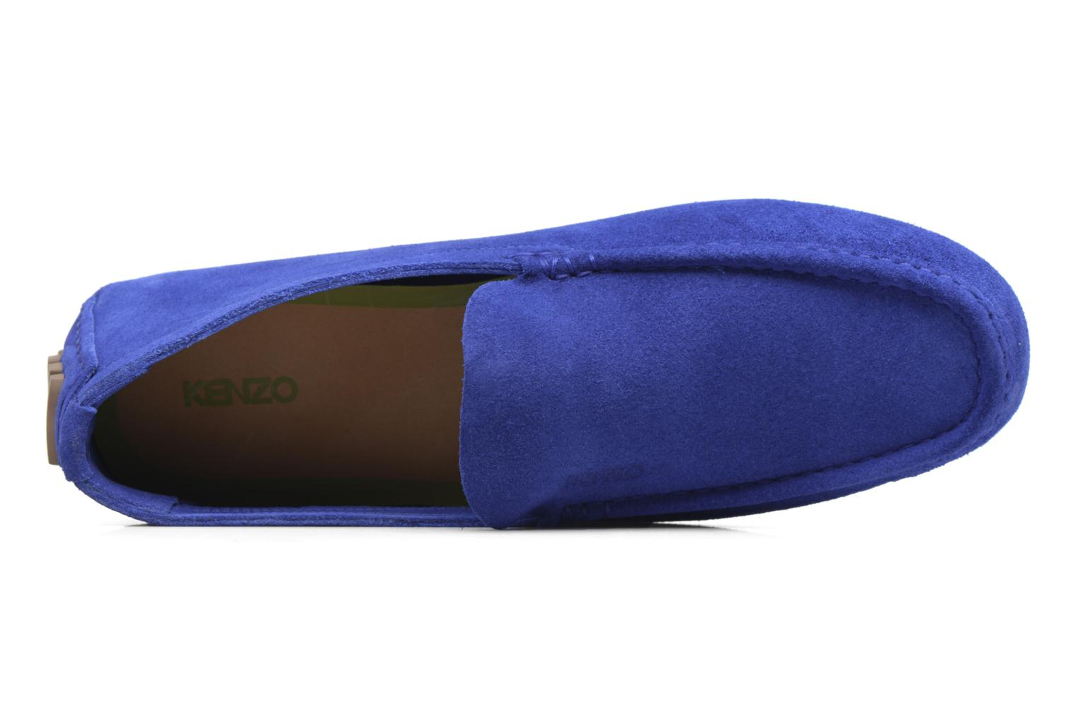Loafers Kenzo Lane Blue back view