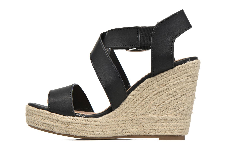 Sandales et nu-pieds Xti Esthy 33489 Noir vue face