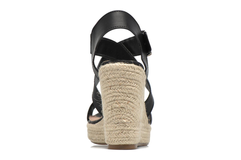 Sandales et nu-pieds Xti Esthy 33489 Noir vue droite