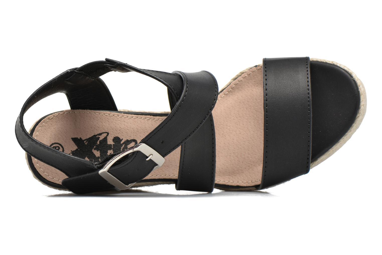 Sandales et nu-pieds Xti Esthy 33489 Noir vue gauche