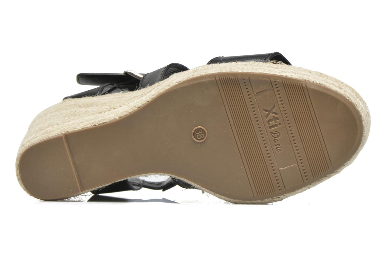 Sandales et nu-pieds Xti Esthy 33489 Noir vue haut