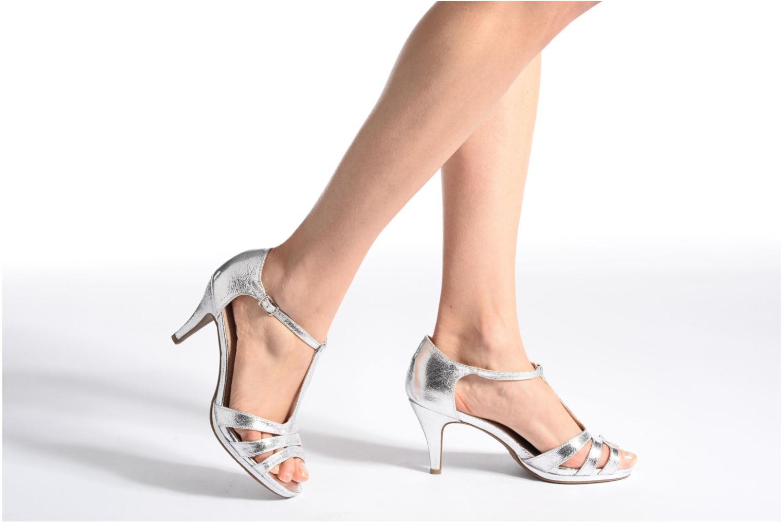 Sandales et nu-pieds Xti Omoi 30568 Or et bronze vue bas / vue portée sac