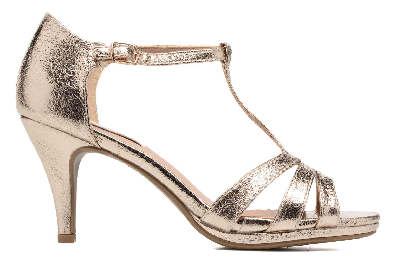 Sandales et nu-pieds Xti Omoi 30568 Or et bronze vue derrière