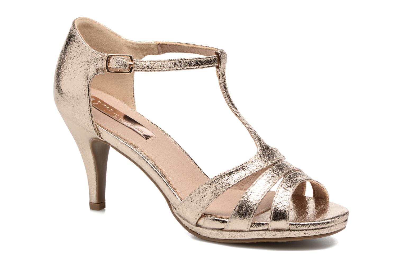 Sandales et nu-pieds Xti Omoi 30568 Or et bronze vue détail/paire