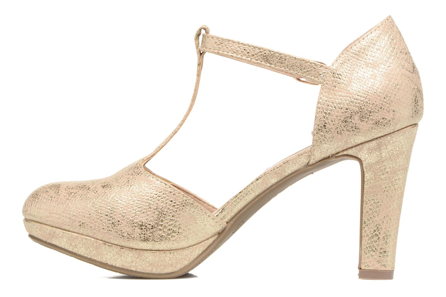 Sandals Xti Nusk 30569 Bronze and Gold front view
