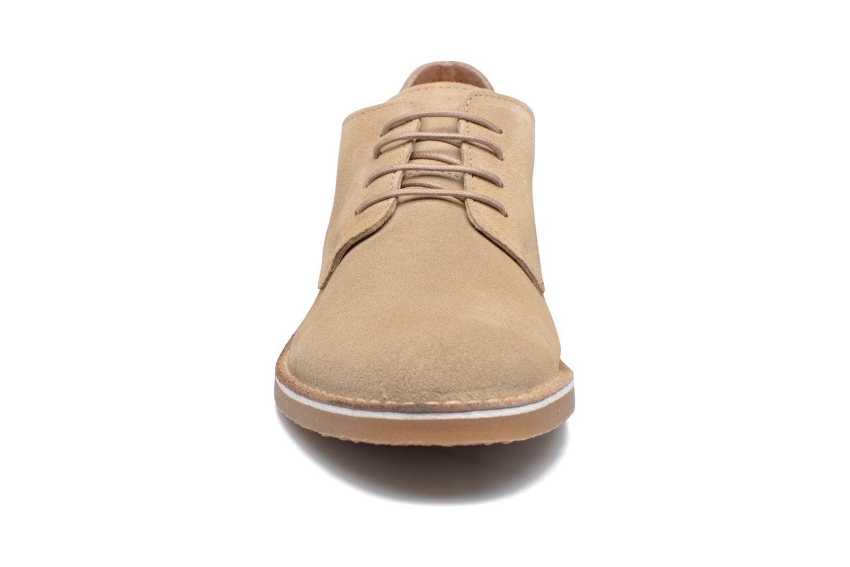 Chaussures à lacets Selected Homme Royce 2 Gris vue portées chaussures