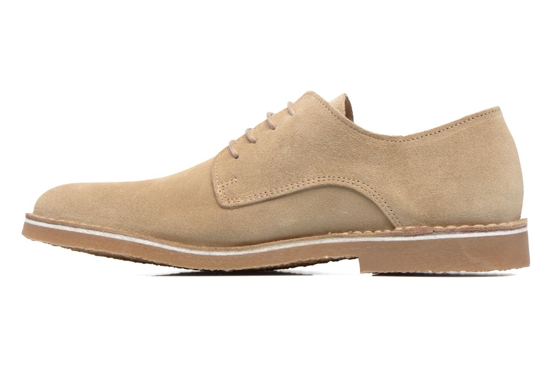 Chaussures à lacets Selected Homme Royce 2 Gris vue face